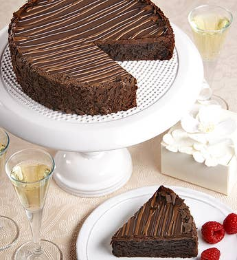 Bake Me A Wish! Triple Chocolate Brownie Cake