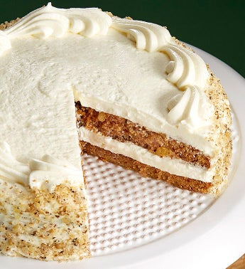 Bake Me A Wish Carrot Cake