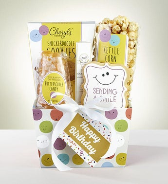 Smile Its Your Birthday Gift Basket