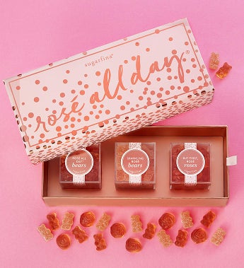 Sugarfina Rose All Day! Candy Bento Box® 3pc