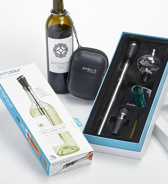 Tempour Deluxe Wine Gift Set