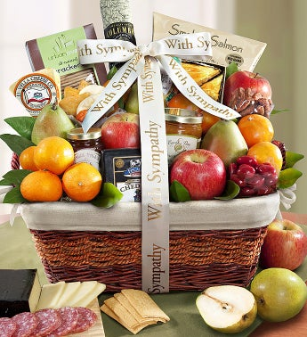 Sympathy Gift Basket Remembering Your Loved One