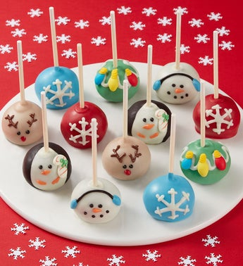 Holiday Truffle Cake Pops