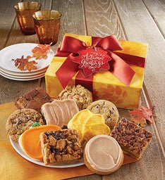 Fall Cookie and Brownie Gift Box