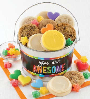 You Are Awesome Cookie Pail
