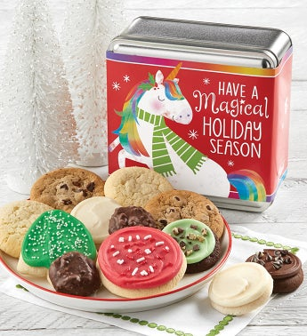 Have a Magical Holiday Season Holiday Treats Tin