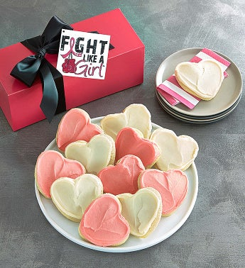 Fight Like a Girl Cookie Box