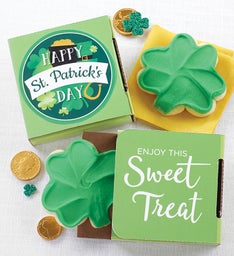 Happy St Patricks Day Cookie Card