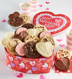 Heart Shaped Valentine Gift Tin - Create Your Own
