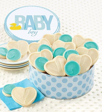 Sweet Baby Boy Gift Tin