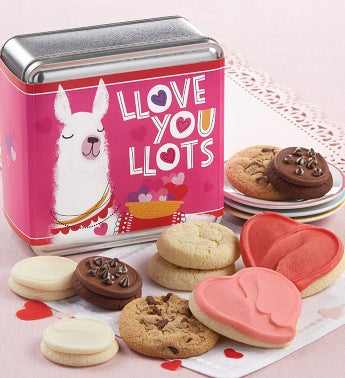 Love You Lots Valentines Day Mini Gift Tin