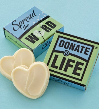 Donate Life Cookie Card