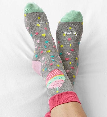 Good Day Birthday Socks for Women