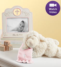 Baby Blessings Gift Set - Blue or Pink