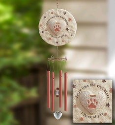 Remembrance Pet Wind Chime