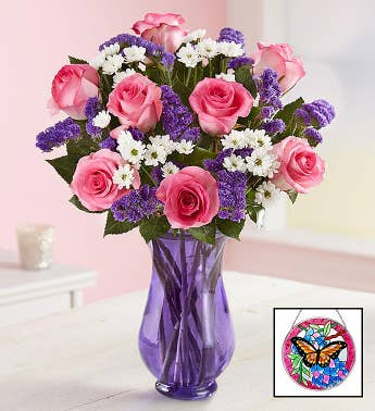 Precious Love Flower Arrangement for Mom