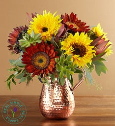 Sunflower Succulent Bouquet by Real Simple®