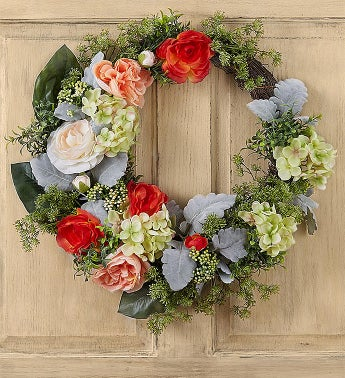 Keepsake Luna Rose Garden Wreath - 24