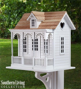 Southern Living Victorian Cottage Birdhouse