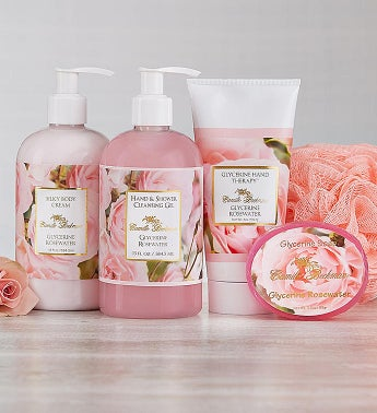 Camille Beckman Spa Rosewater Gift Set