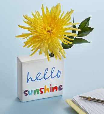 Hello Sunshine Bud-dee Bouquet