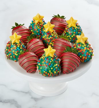 Christmas Tree Strawberries