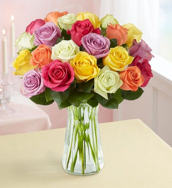 Two Dozen Assorted Roses