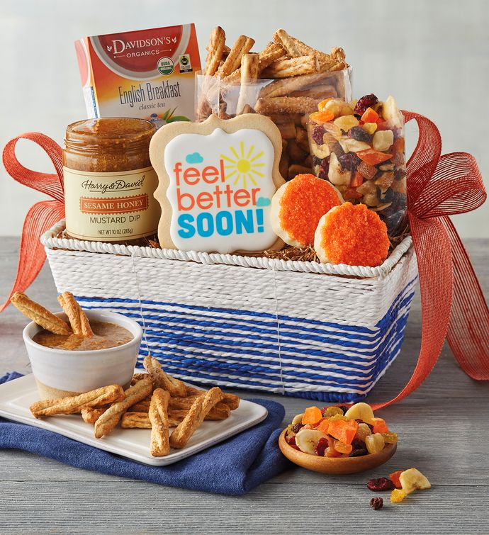 34Feel Better34 Gift Basket