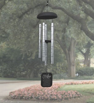 A Fathers Goodbye Memorial Wind Chime
