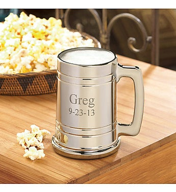 Personalized Gunmetal Mug