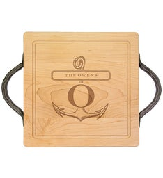 Personalized 12x12 Cutting Board with Handle