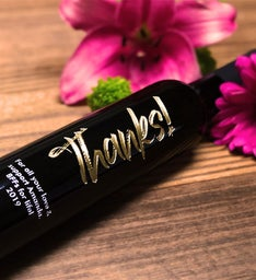 Personalized Moonstruck Thanks Oil  Vinegar