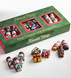 Fannie May Holiday Chocolate Novelties Gift Box