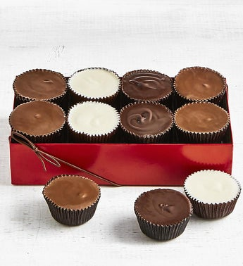 Simply Chocolate Giant Peanut Butter Cups 8 pc