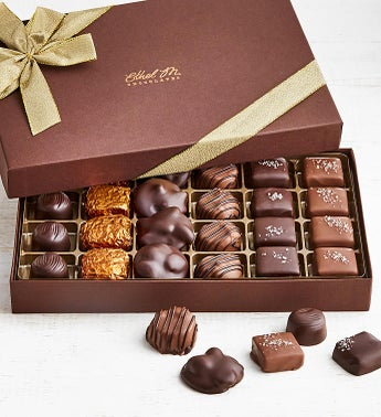 Ethel M Chocolates Nuts  Caramels 24pc