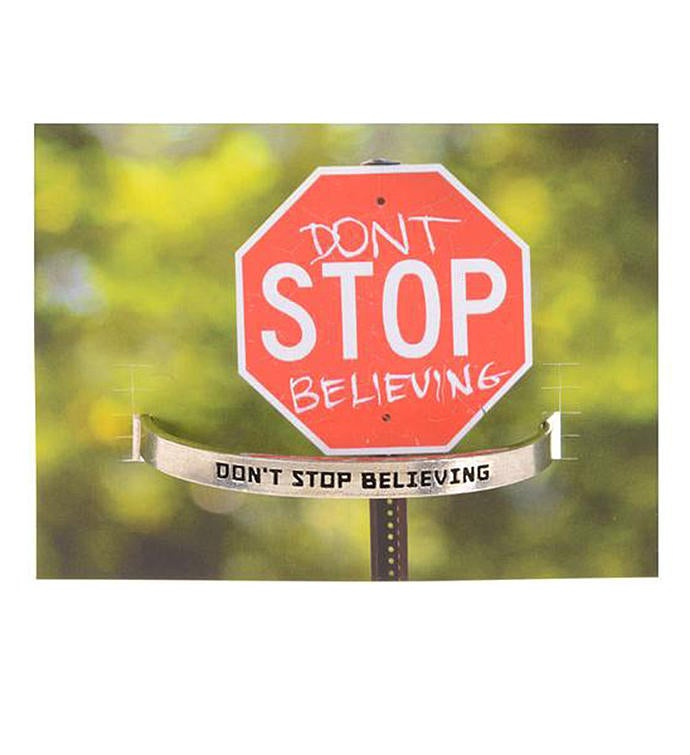 Quotable Cuff - Dont Stop Believing