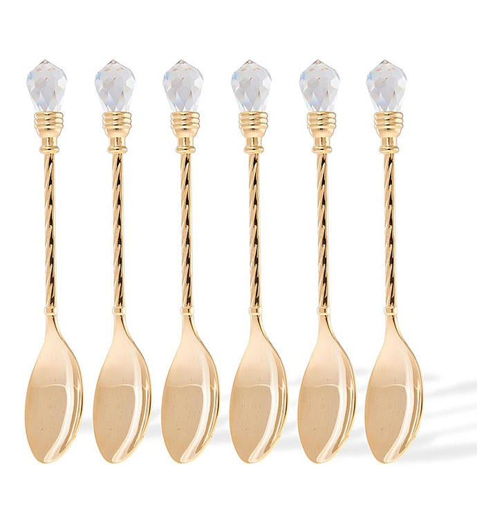 Spoons - Gold Plated by Matashi Set of 6