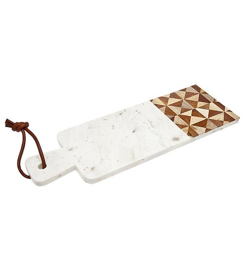 Wood/Marble Rectangle Board