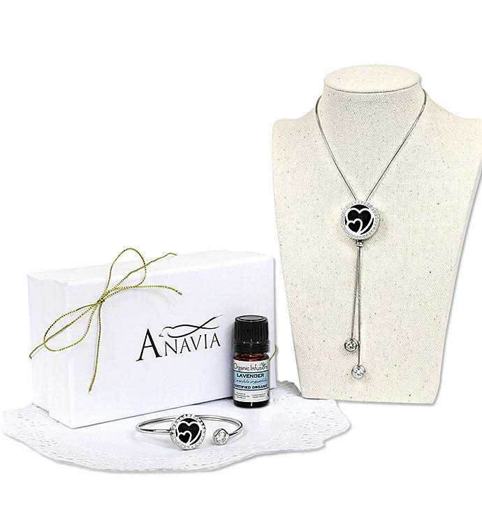Double Hearts Essential Oil Gift Set