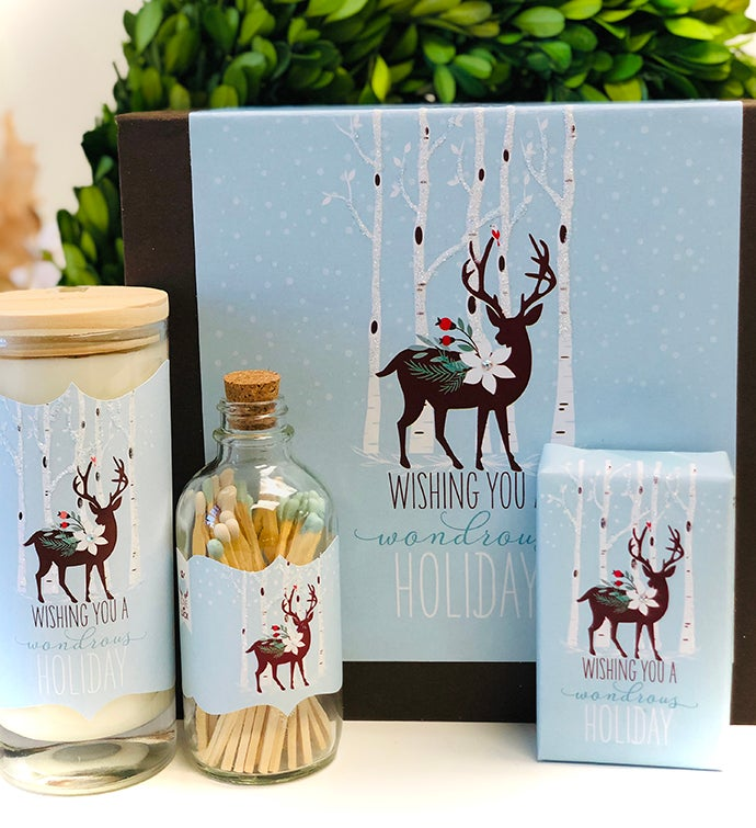 Gift Box Stag