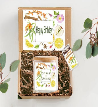 Botanical Gift Birthday Box