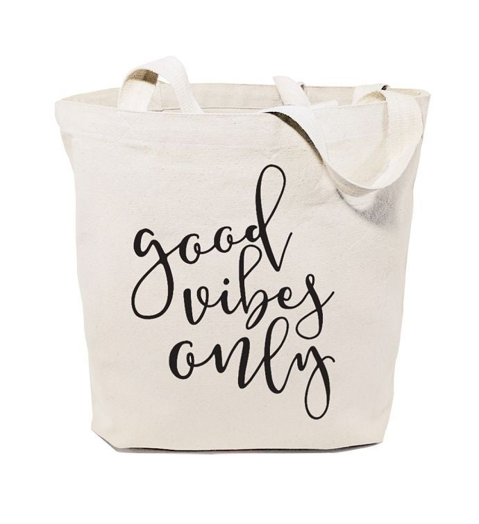 Positive Sayings Reusable Shoulder Tote