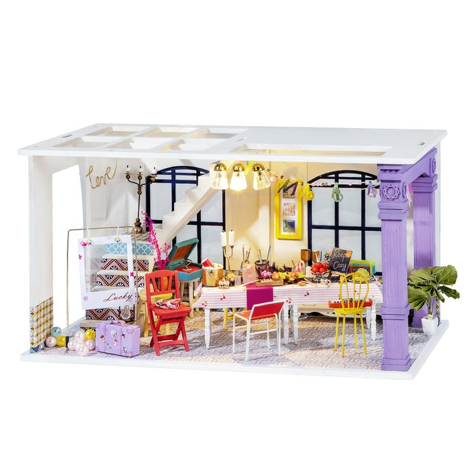 DIY 3D Mini Dollhouse Puzzle