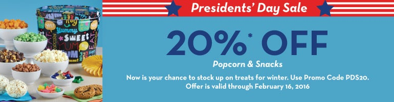 Presidents Day Savings!