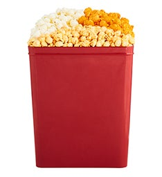 Cheese Trio Popcorn Tins