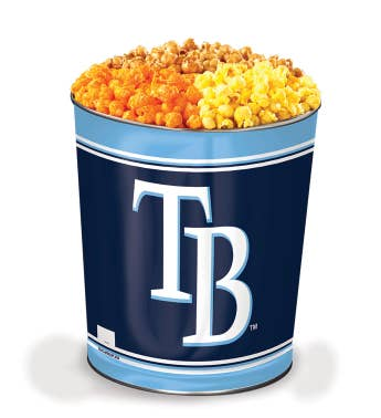 Tampa Bay Rays 3-Flavor Popcorn Tins