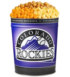 Colorado Rockies 3-Flavor Popcorn Tins