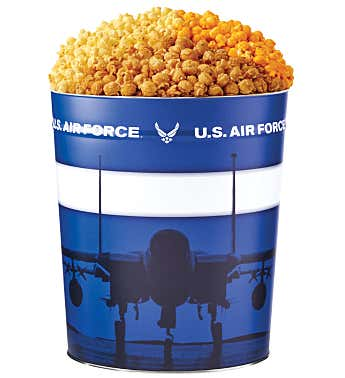 US Air Force Popcorn Tin