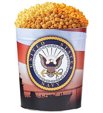 US Navy Popcorn Tin