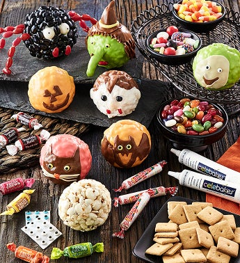 Halloween Popcorn Balls Decorating Kit